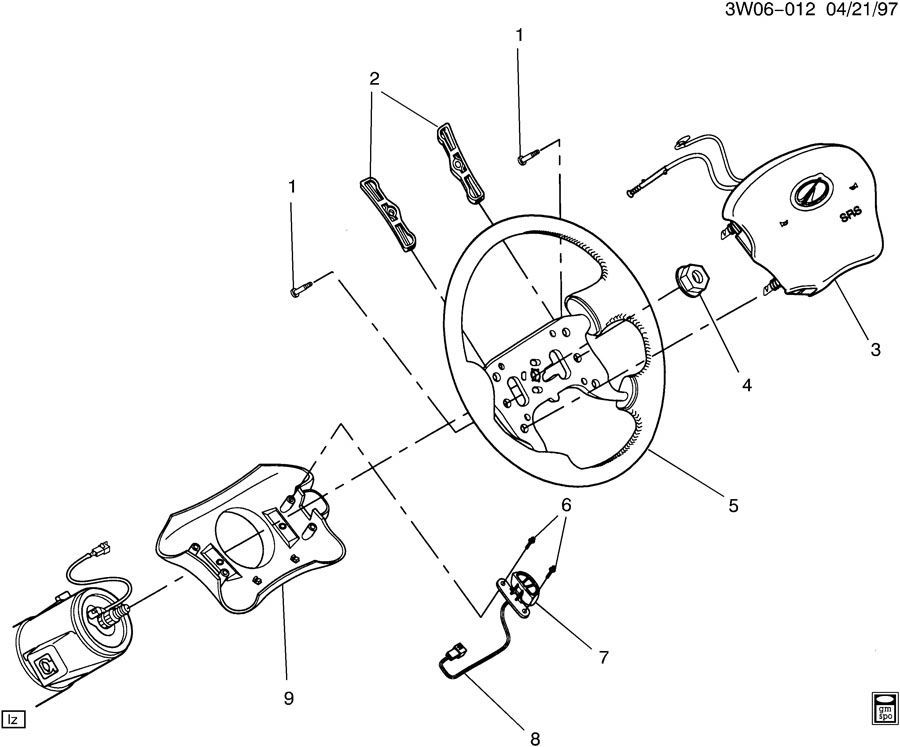 1999 Oldsmobile 88 Wiring Diagram