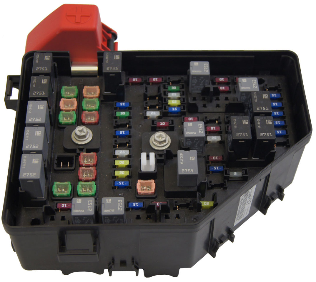 Oem Fuse Box About Wiring Diagram Vw Beetle Melting 2010 Buick Enclave Saturn Outlook Chevy Traverse Block New Automotive