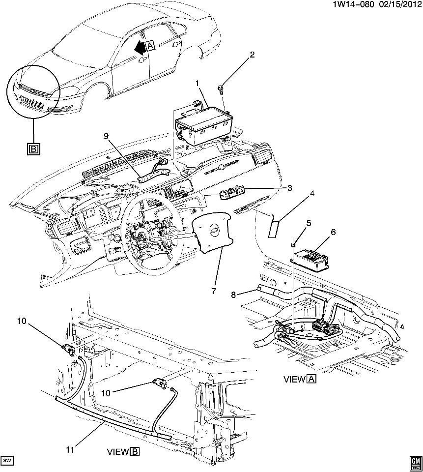 chevy airbag schematic