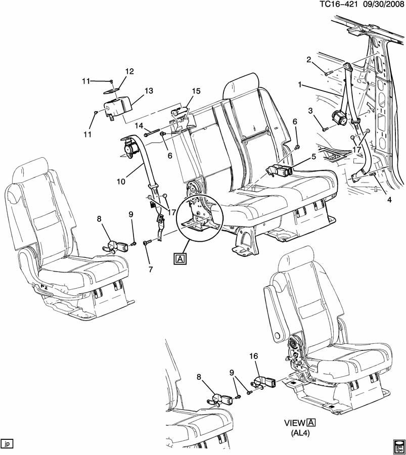 Tahoe Seat Wiring - Diagrams Catalogue