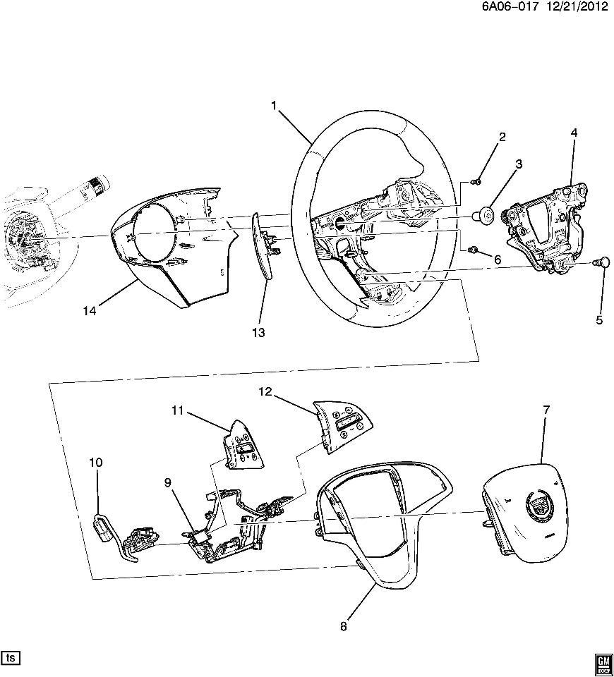 cadillac cruise control diagram
