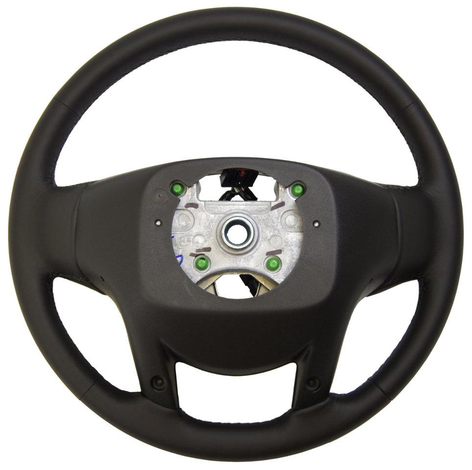 2015 Cadillac Escalade Esv Steering Wheel Black Leather