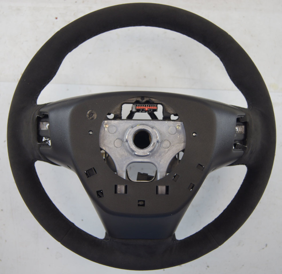 2015-2017 Cadillac ATS CTS Steering Wheel Black Suede New