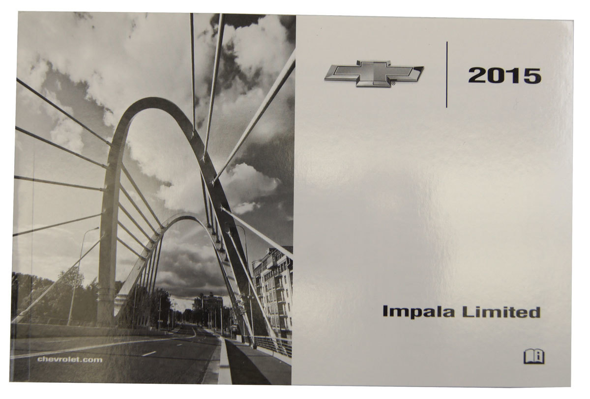 2015 Chevy Impala Limited Us Owners Manual W  Warranty Book New 23476238 23476240