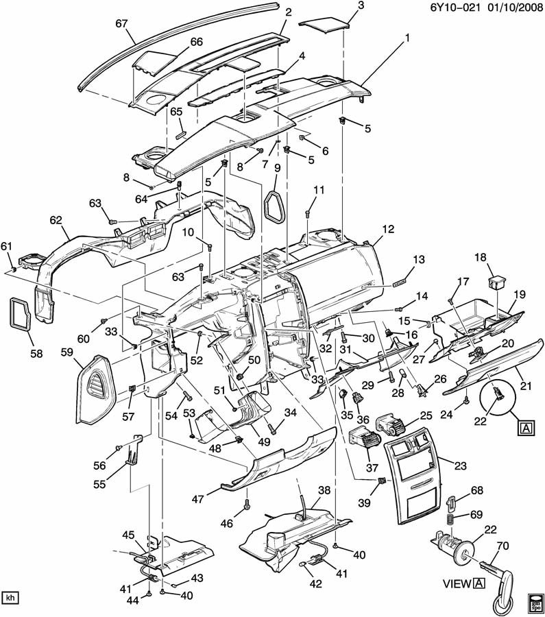 Cadillac Parts Diagram