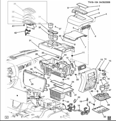 hummer h2 interior parts diagram