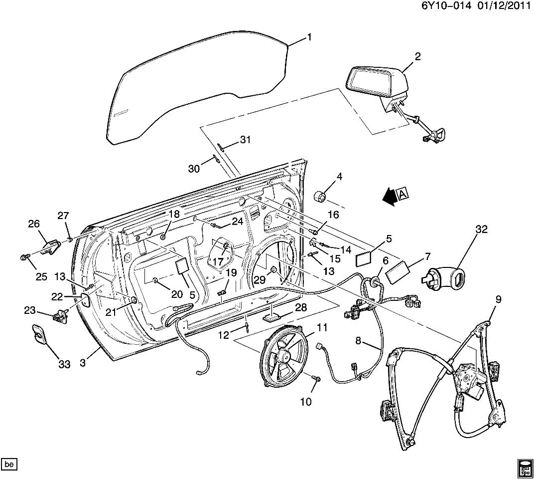 2009 Cadillac Wiring Diagram Library For 2005 Cts Xlr Wire Harness Side Mirror Window Door Lock Rh Factoryoemparts Com