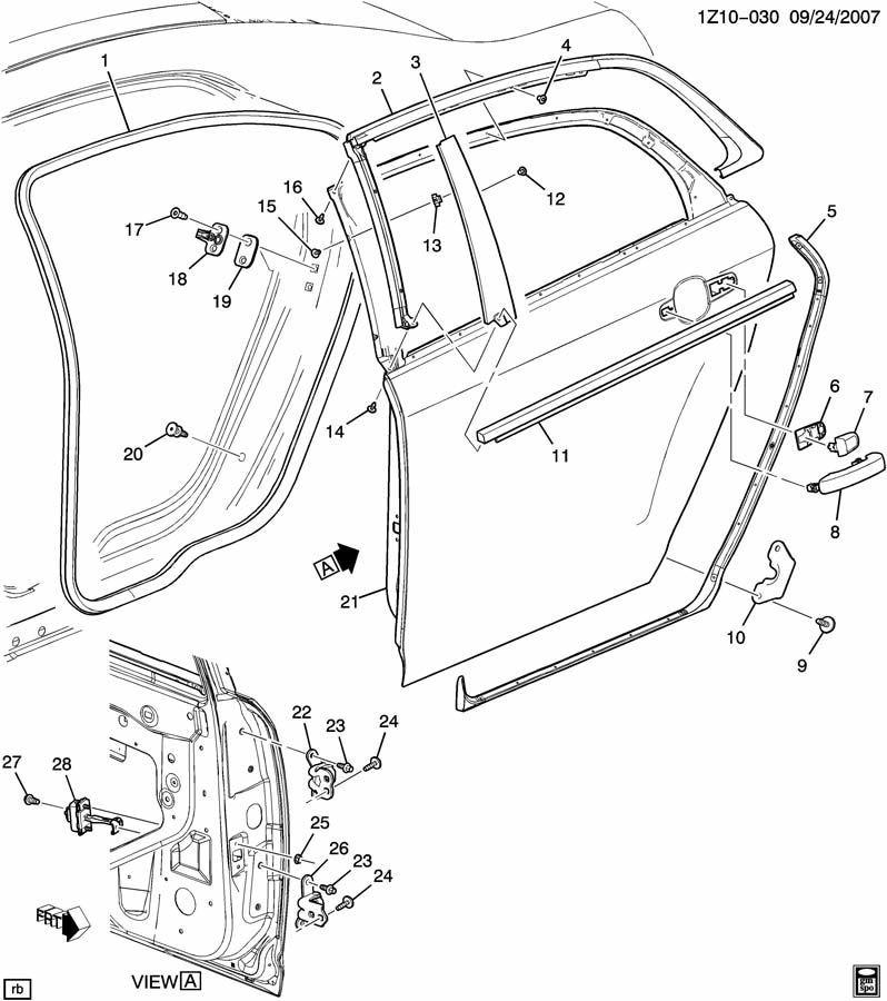 Chevrolet Malibu Equinox Gmc Terrain Paint To Match Door Handle New Oem 22867552