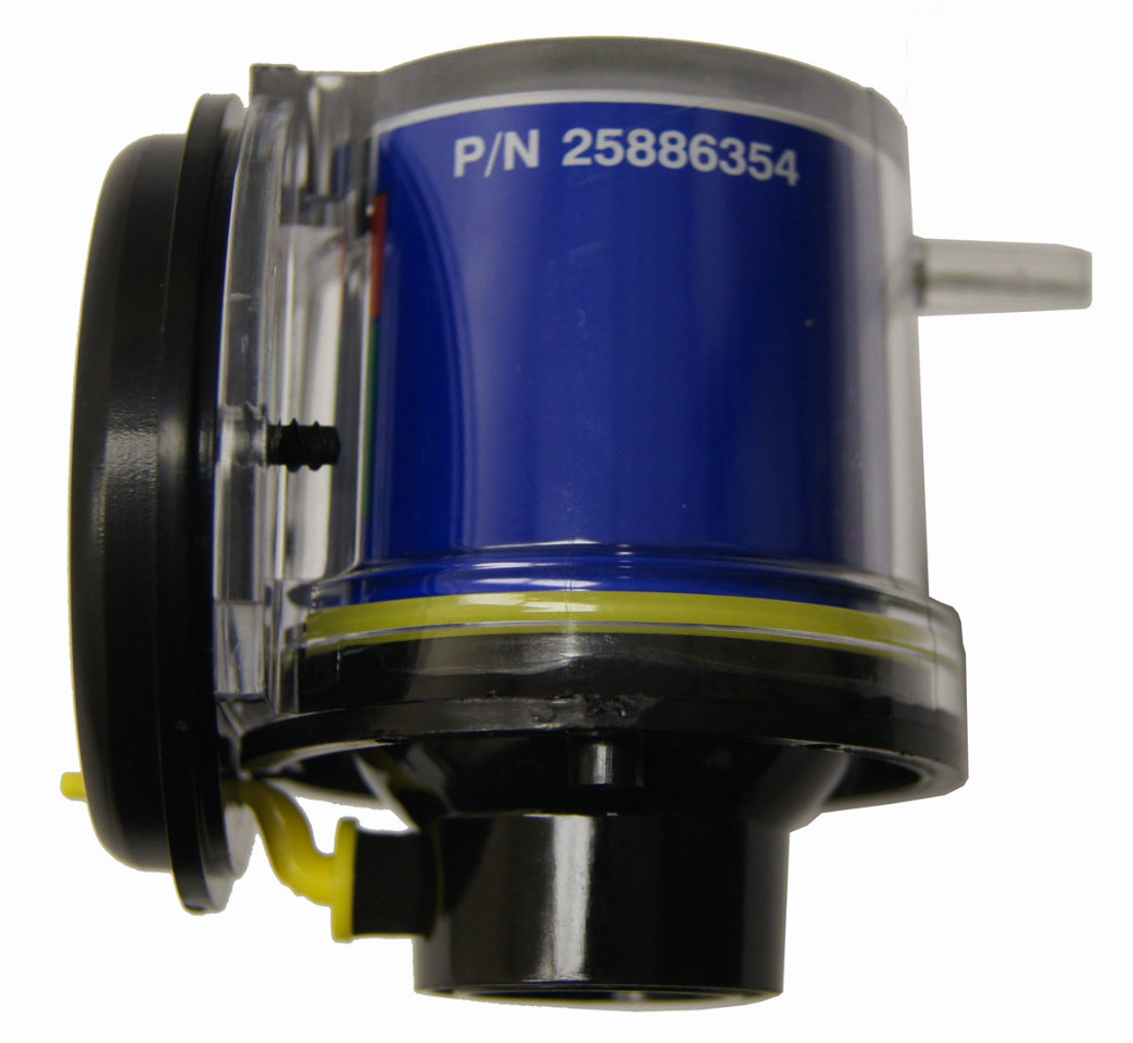 2008 Kodiak C4500 C5500 Air Intake Cleaner Gauge New 25886354