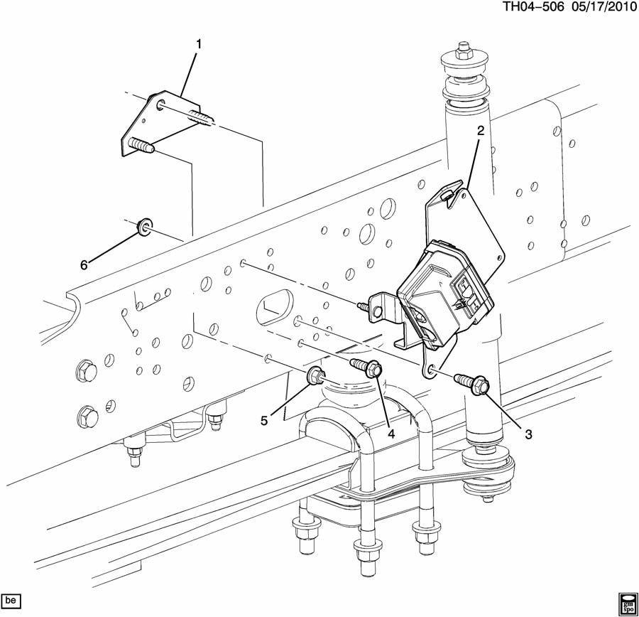 2007 kodiak c7500 c8500 electronic air brake