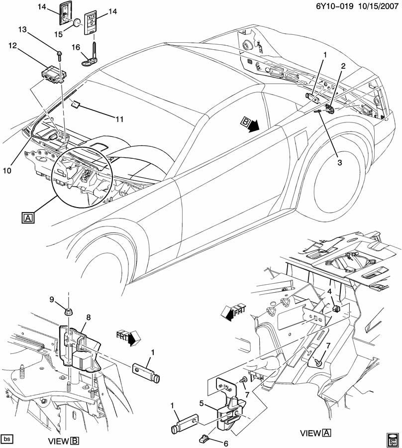 C6 Corvette Schematic