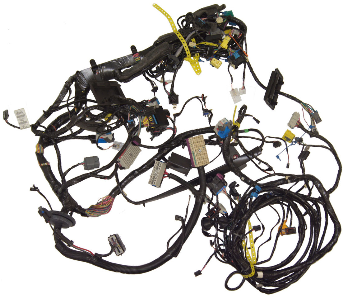 2009 Cadillac Xlr Chassis Wiring Harness Complete New Oem Escalade 25971279