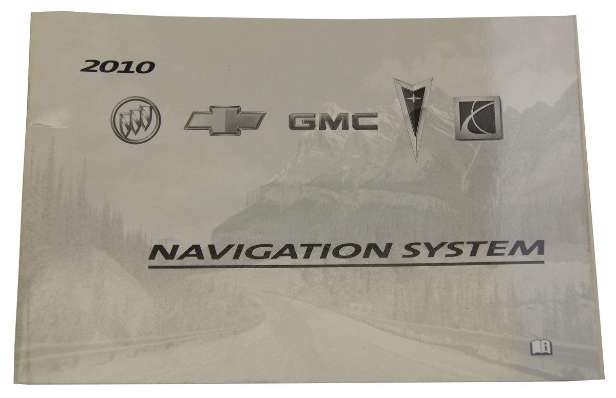2010 GM Acadia Enclave Lucerne Traverse Outlook Vue Navigation System Manual  New ...