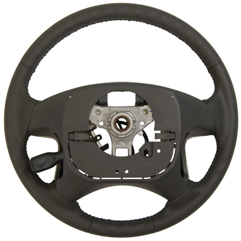 2007 2011 Toyota Camry Steering Wheel Md Grey Leather New