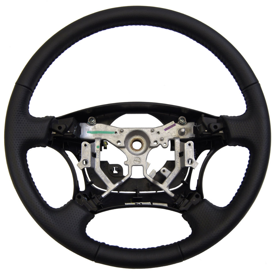 2006-2009 Toyota 4Runner Steering Wheel Black Dimpled Leather New 451000W210B0