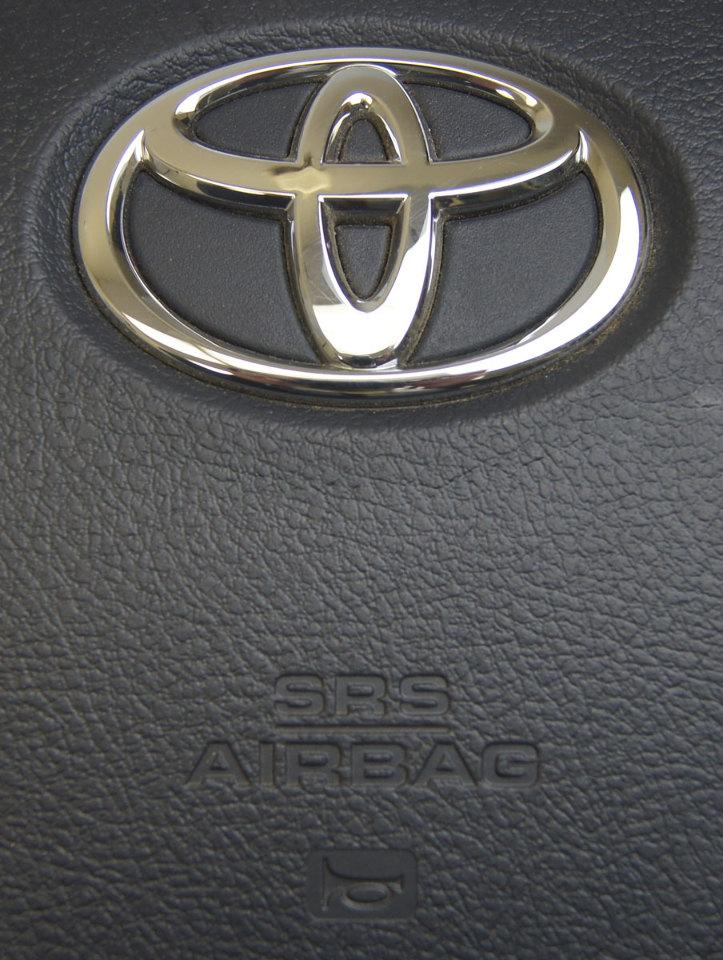 C Toyota Highlander Airbag Air Bag Drivers Side Black New C on Toyota Oem Parts Diagram