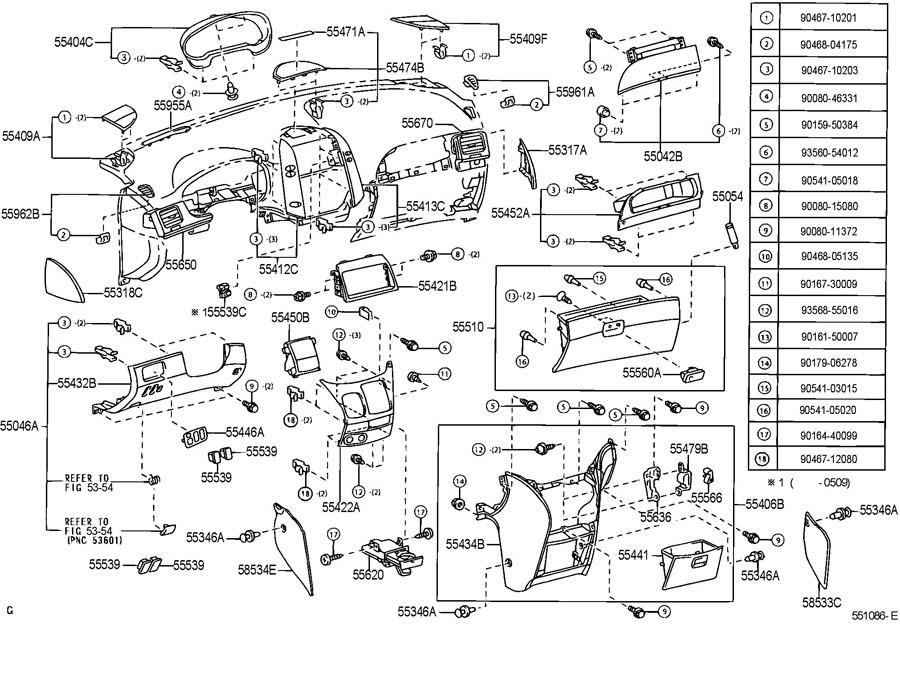 Toyota Sienna Parts >> 2004 2010 Toyota Sienna Switch Button Holder Panel Stone Grey New