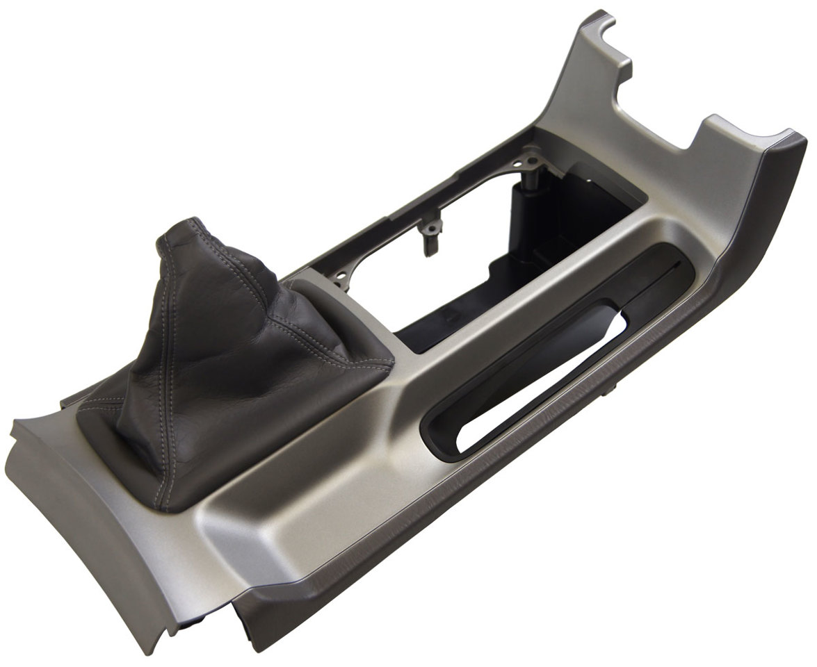 2004-2006 Toyota Solara Center Console W/Manual Trans Stone Grey 58805AA040B0