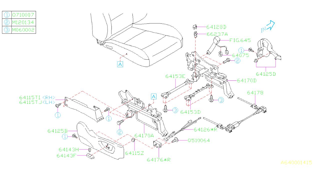 Subaru Tribeca Parts Diagram