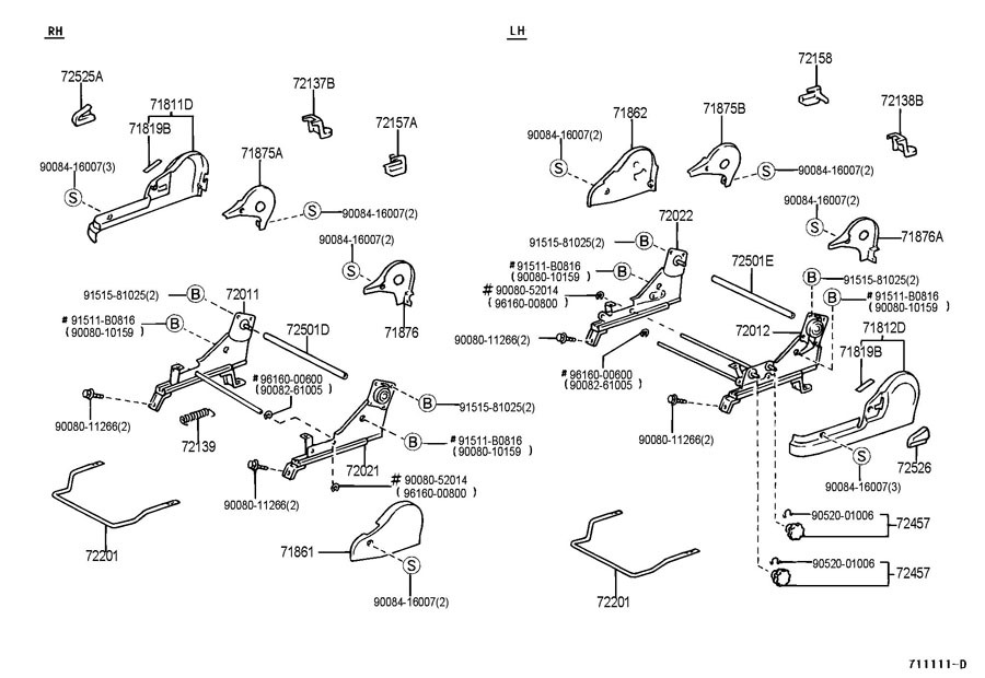 1999 2003 toyota solara driver seat manual adjustment knob. Black Bedroom Furniture Sets. Home Design Ideas