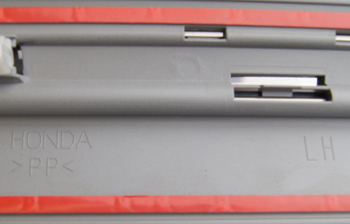 09-15 Honda Pilot LH Front Door Trim Side Molding Sterling Gray 75322SZAA210741