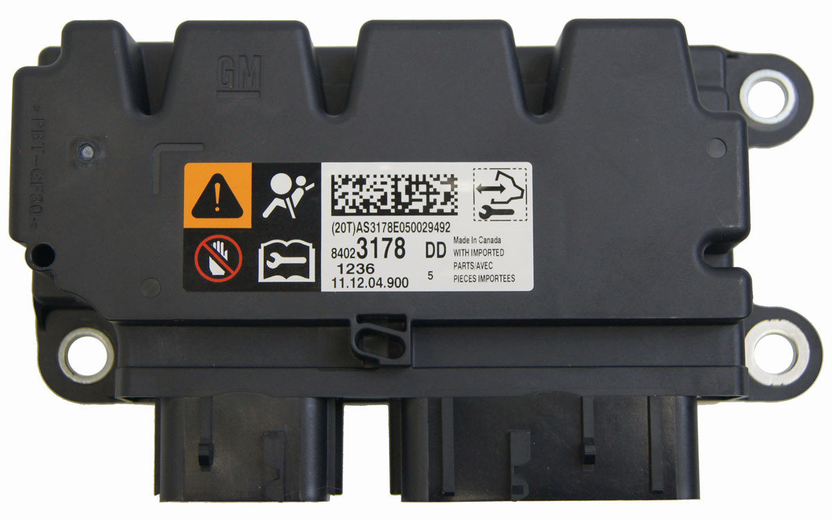 Chevrolet Impala Limited Airbag Control Module New Oem