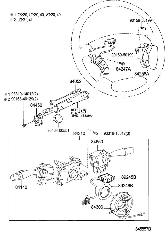 Toyota Lh Audio Control Switches Sandalwood New Oem Camry Landcruiser Sequoia