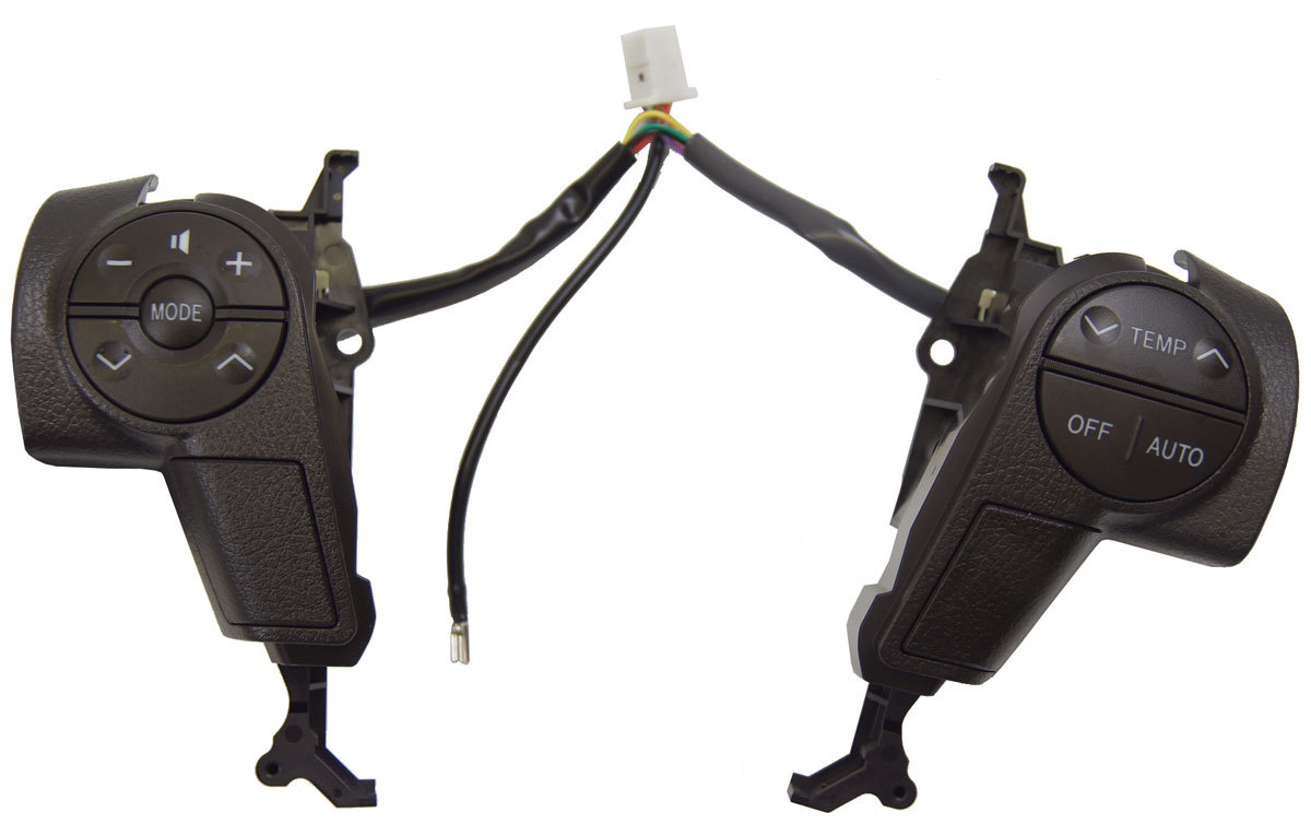 2008 2011 Toyota Sequoia Steering Wheel Switches New Brown