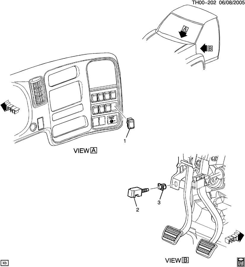 chevy c4500 parts diagram 2003-09 topkick/kodiak c4500-c8500 engine