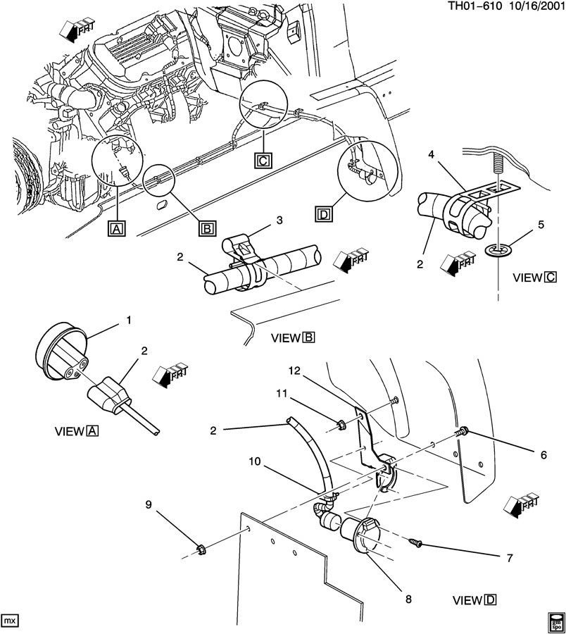 2003 2009 topkick kodiak c6500 c8500 block heater cord new. Black Bedroom Furniture Sets. Home Design Ideas
