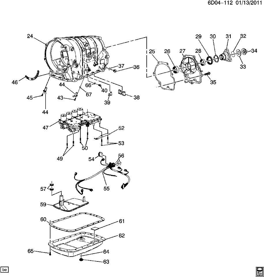 GM OEM Automatic Transmission-Pan Gasket 96042862
