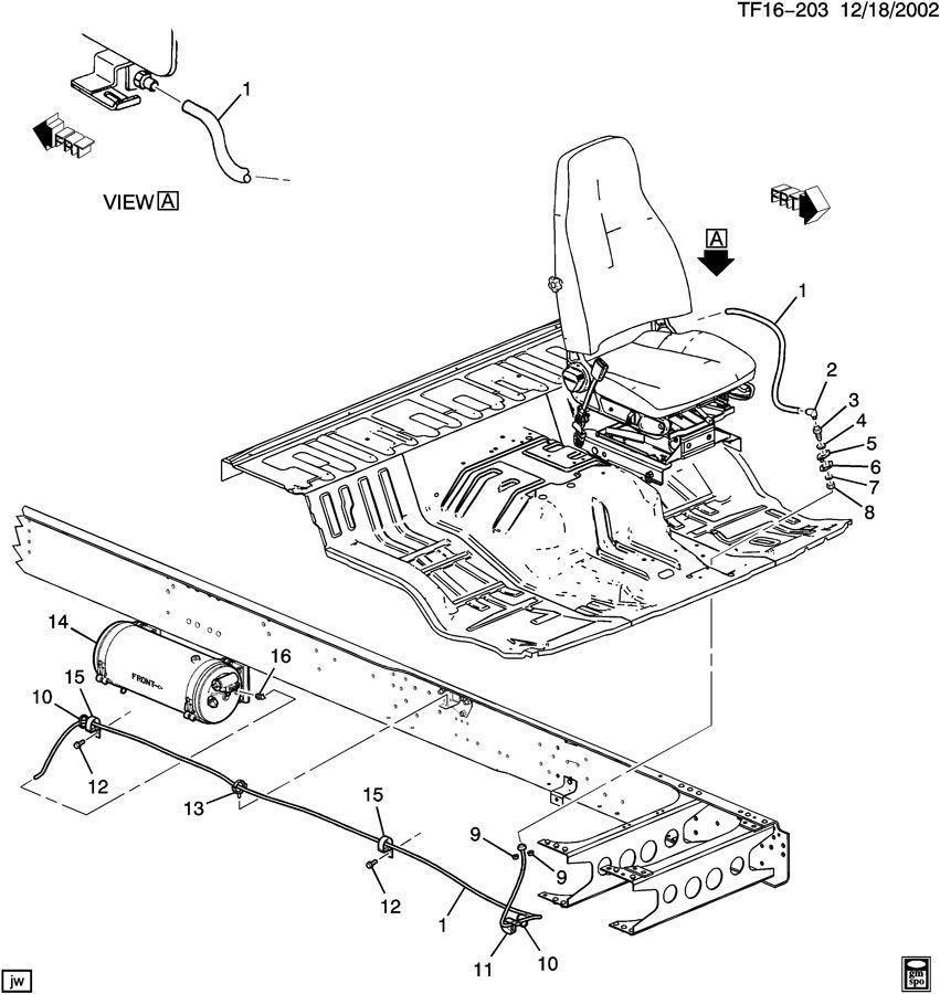 2004 2009 topkick kodiak t6500 t8500 clamps 5 pack new oem 97729942 factory oem parts. Black Bedroom Furniture Sets. Home Design Ideas