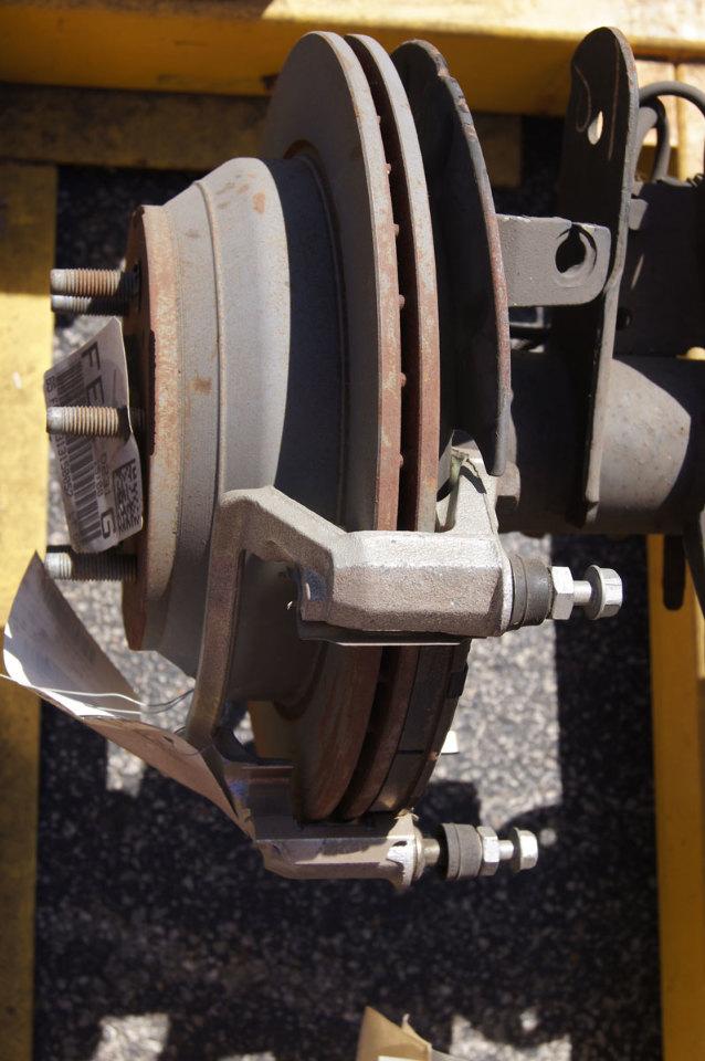 2006-2009 Chevrolet Trailblazer Rear Axle W/Brakes 4:10 Ratio Limited Slip  FE1