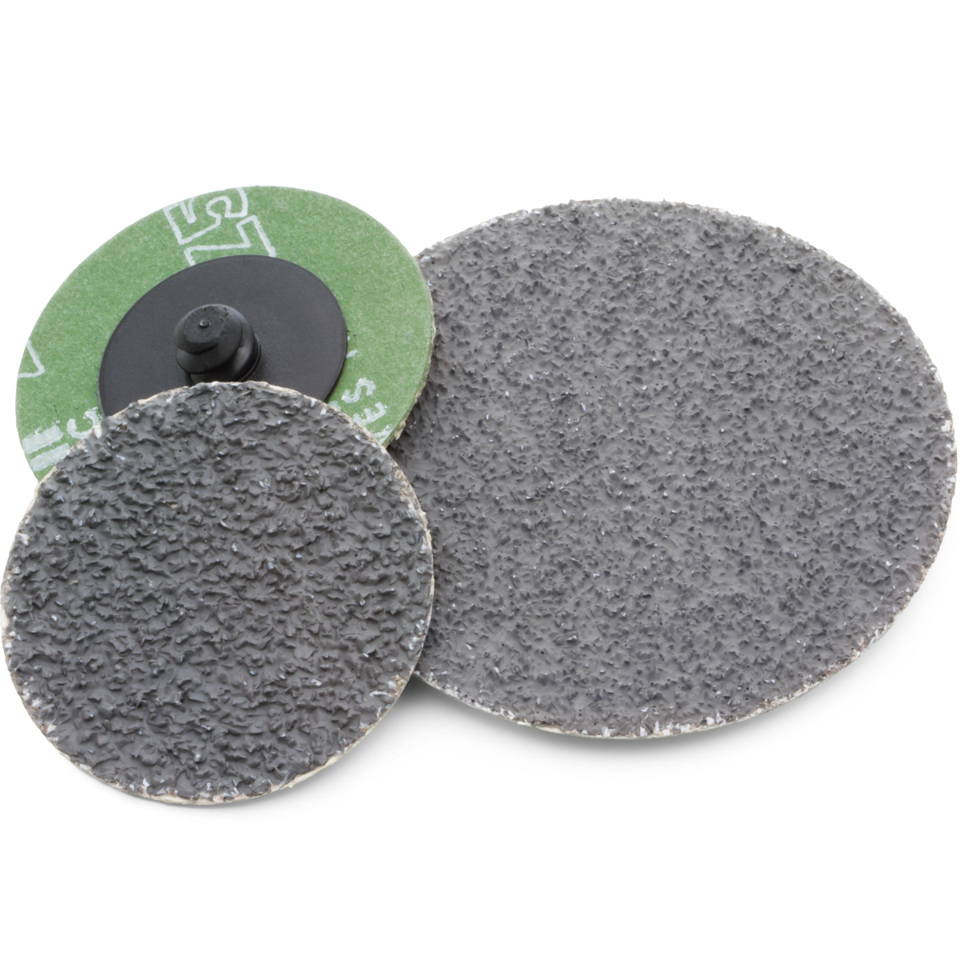 "Kimball Midwest Quik Lok 2"" Dark Fire Grinding Discs 36 Grit (Qty 25) 87-1911"