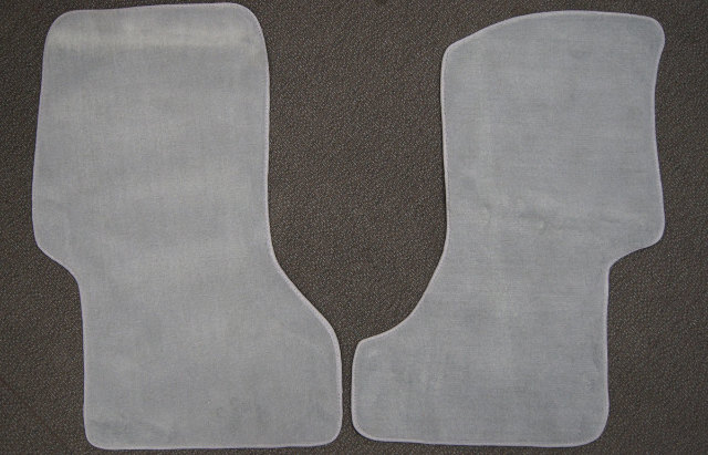 2003-2016 Savana Express Front Floor Mats 2pcs Gray Carpet New