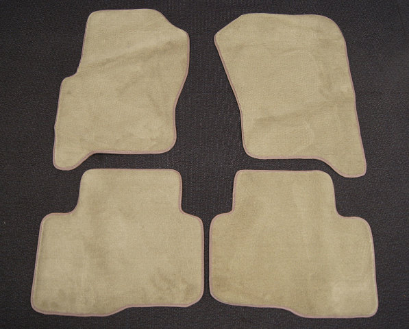 land rover lr floor mats pcs  tanbeige carpet