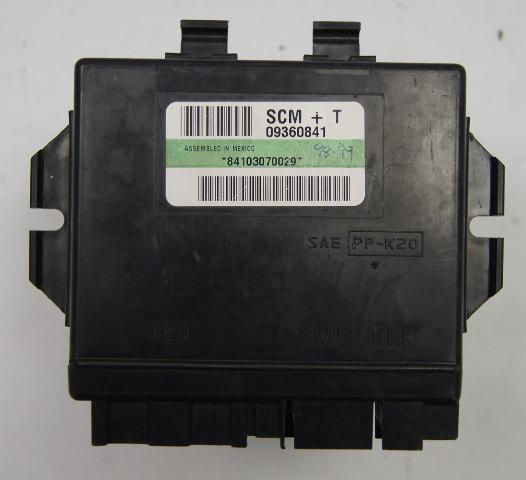 1997-99 Chevy Corvette C5 LH Seat Control Module SCM+T OEM 09360841 16266131