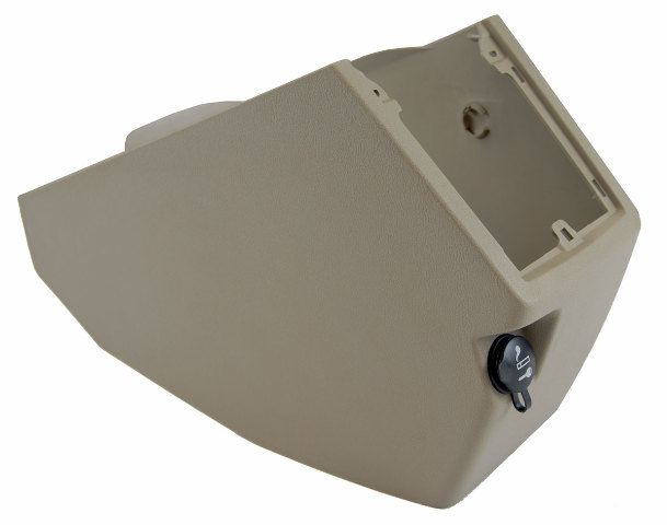 2007-2009 Dodge Caliber Shifter Console Panel Pebble Beige 0YD74DKAAC 0YD741KAAB