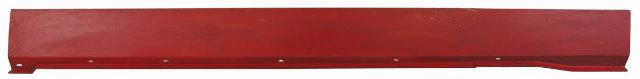 1984-1996 Corvette C4 Right RH Rocker Panel Used Red Needs Re-Painted 10077416