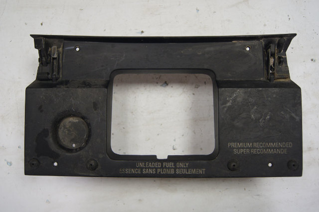 1984-1996 Chevy Corvette C4 Gas Fuel Door Backing Plate Used 10125966 10125967