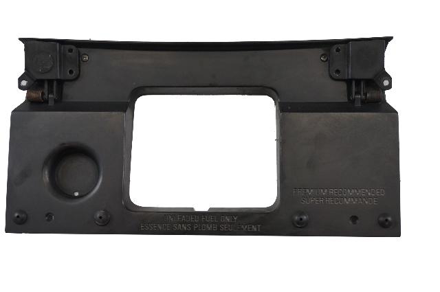 1990-96 CORVETTE C4 FUEL, GAS DOOR BACKING PLATE, GM OEM COUPE 10125967