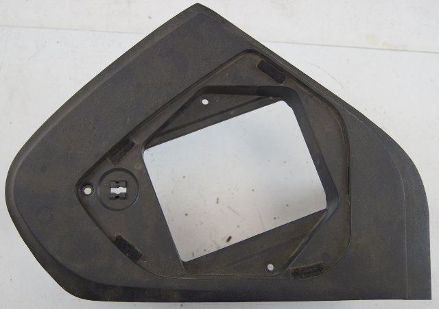 chevy corvette  dash panel fuse cover panel  black