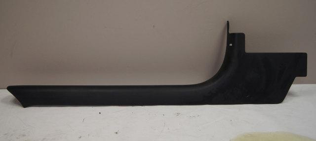1997-2004 Chevy Corvette C5 Left Kick Panel Scuff Plate Black Used OEM 10247091