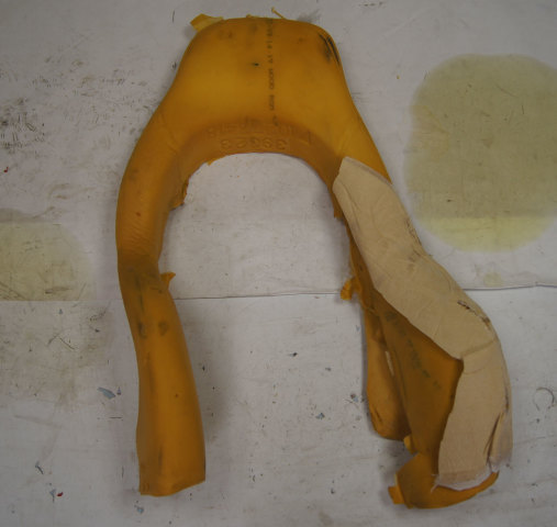 1997-2004 Chevy Corvette C5 Sport Seat Foam Cushion Upper Outer Used 10273418