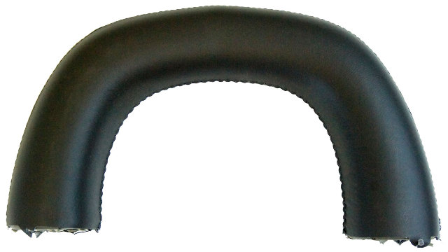 Cadillac XLR Passenger Seat (RH) Roll Bar Hoop Loop Headrest Ebony