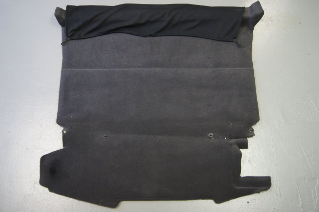 2004-2009 Cadillac XLR Rear Cargo Floor Carpet Black Used 10353064 15940142