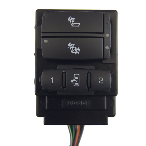 2008-2009 Hummer H2 Left Drivers Seat Memory Switch/Heater New 10386129 25872364