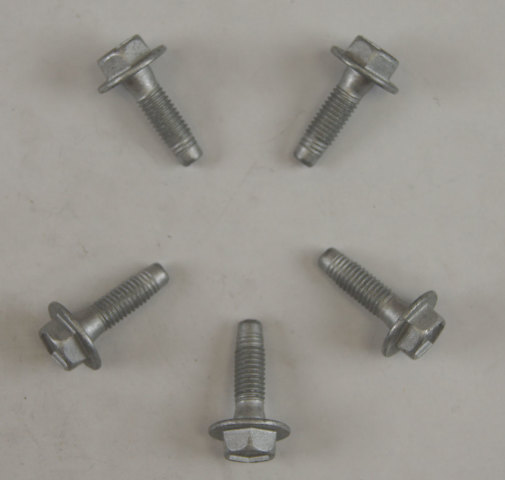 GM Flanged Hex Head Bolt Pack of 5 New OEM M8 X 1.25 X 28 10407881