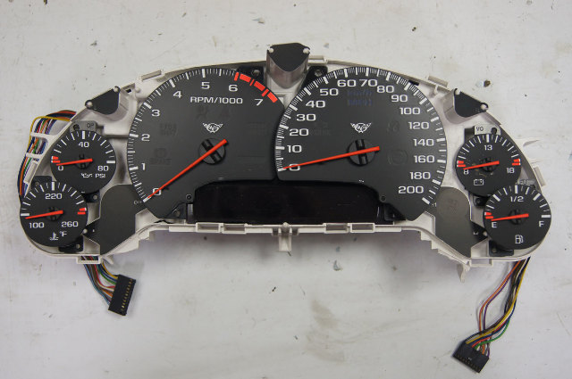 1997-2004 Corvette C5 Instrument Gauge Cluster Used Tach Not Working 10408309