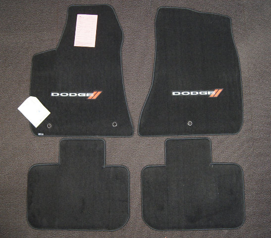 2011 2018 Dodge Charger Floor Mat Set 4pcs New Black